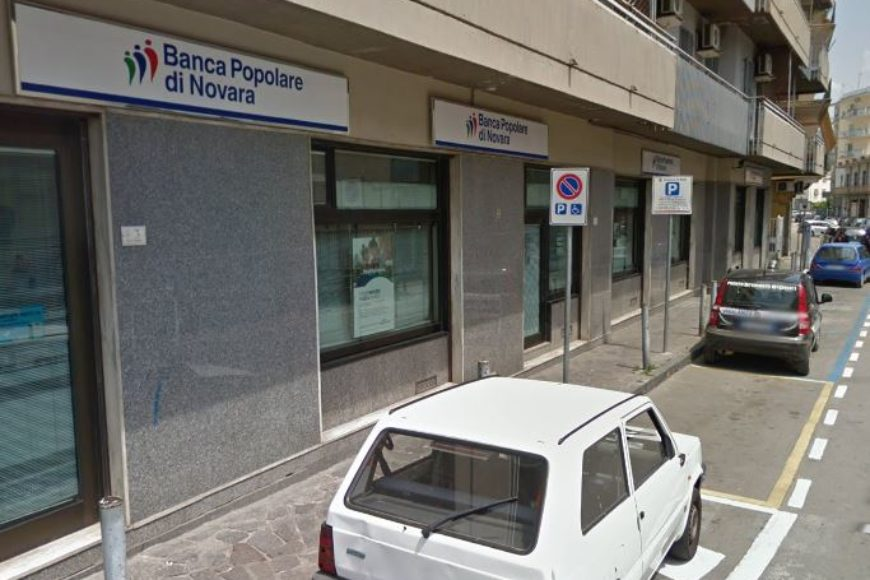 Sventata rapina presso la filiale della Banca Popolare di Novara di Nola, grazie ai dispositivi di sicurezza bancaria Stars e PCMS